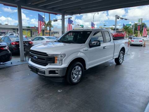 2018 Ford F-150 for sale at American Auto Sales in Hialeah FL