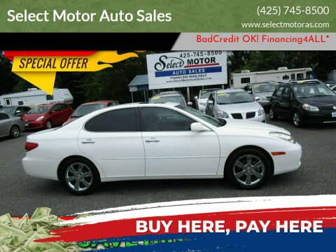 2005 Lexus ES 330 for sale at Select Motor Auto Sales in Lynnwood WA