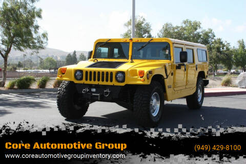 1999 AM General Hummer for sale at Core Automotive Group - Hummer in San Juan Capistrano CA