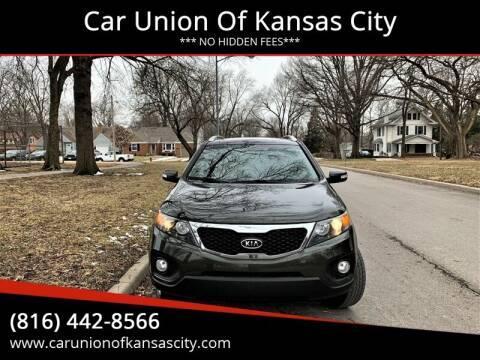 2013 Kia Sorento for sale at Car Union Of Kansas City in Kansas City MO