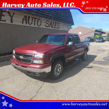 2006 Chevrolet Silverado 1500 for sale at Harvey Auto Sales, LLC. in Flint MI