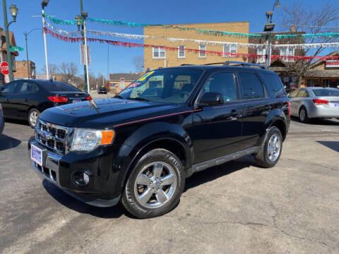 2012 Ford Escape for sale at Latino Motors in Aurora IL