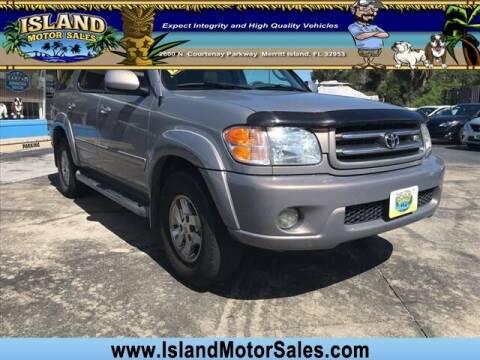 2001 Toyota Sequoia for sale at Island Motor Sales Inc. in Merritt Island FL