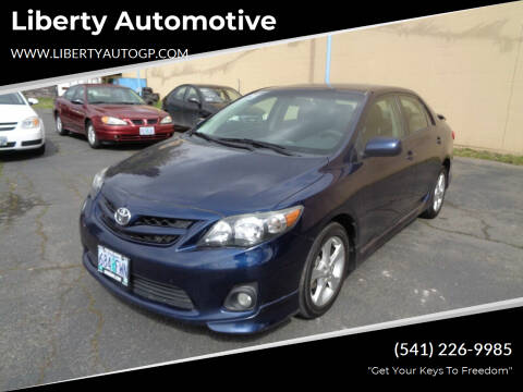 2012 Toyota Corolla for sale at Liberty Automotive in Grants Pass OR