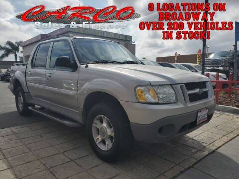 2003 Ford Explorer Sport Trac for sale at CARCO SALES & FINANCE #2 in Chula Vista CA