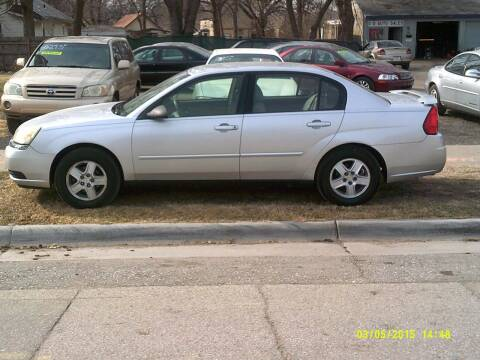 2005 Chevrolet Malibu for sale at D & D Auto Sales in Topeka KS