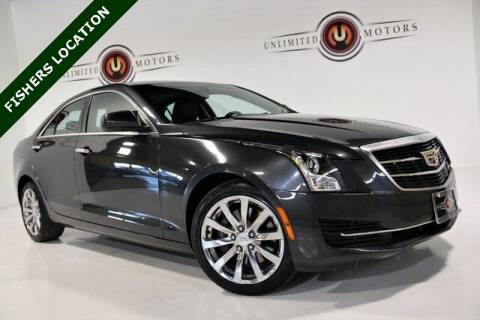 2018 Cadillac ATS for sale at Unlimited Motors in Fishers IN