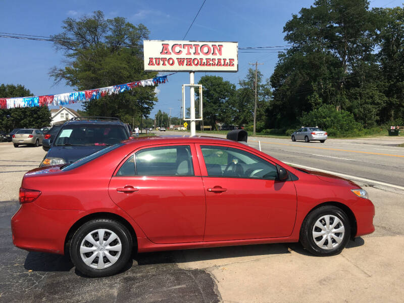 2010 Toyota Corolla for sale at Action Auto Wholesale in Painesville OH