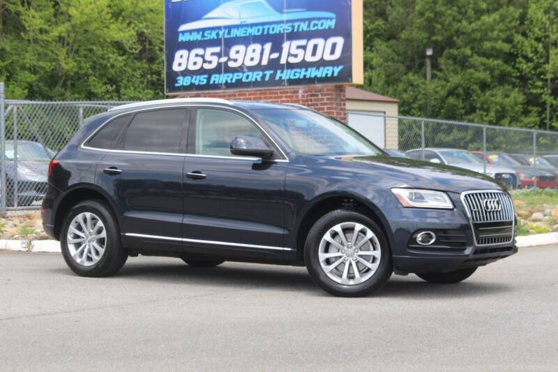 2015 Audi Q5 for sale at Skyline Motors in Louisville TN