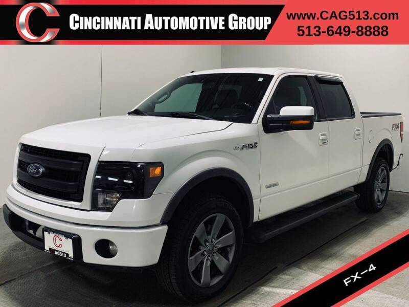2014 Ford F-150 for sale at Cincinnati Automotive Group in Lebanon OH