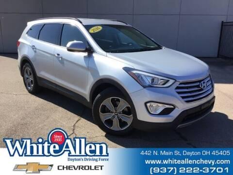 2016 Hyundai Santa Fe for sale at WHITE-ALLEN CHEVROLET in Dayton OH