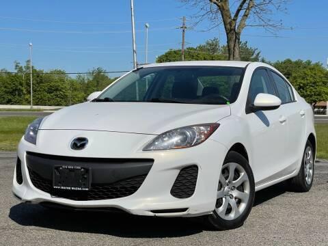2013 Mazda MAZDA3 for sale at MAGIC AUTO SALES in Little Ferry NJ