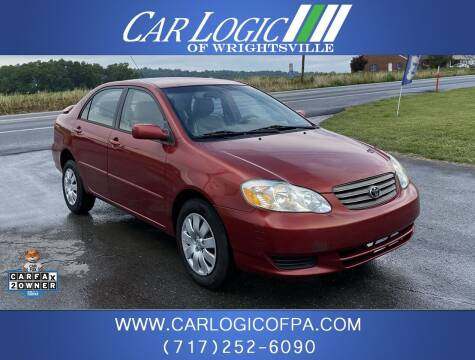 2004 Toyota Corolla for sale at Car Logic in Wrightsville PA