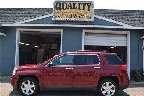 2012 GMC Terrain for sale at Quality Pre-Owned Automotive in Cuba MO