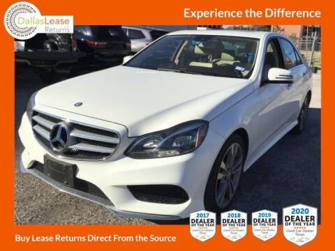 2016 Mercedes-Benz E-Class for sale at Dallas Auto Finance in Dallas TX