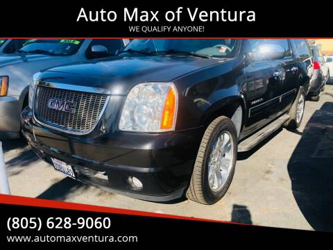 2013 GMC Yukon XL for sale at Auto Max of Ventura in Ventura CA