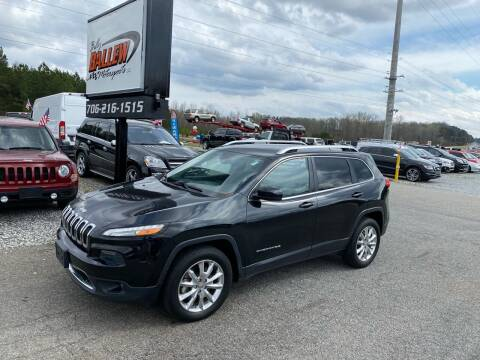 2015 Jeep Cherokee for sale at Billy Ballew Motorsports in Dawsonville GA