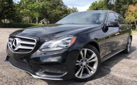 2016 Mercedes-Benz E-Class for sale at Consumer Auto Credit in Tampa FL