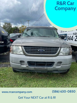 2003 Ford Explorer for sale at R&R Car Company in Mount Clemens MI