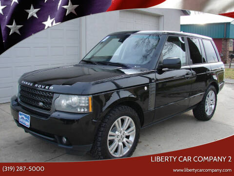 2011 Land Rover Range Rover for sale at Liberty Car Company - II in Waterloo IA