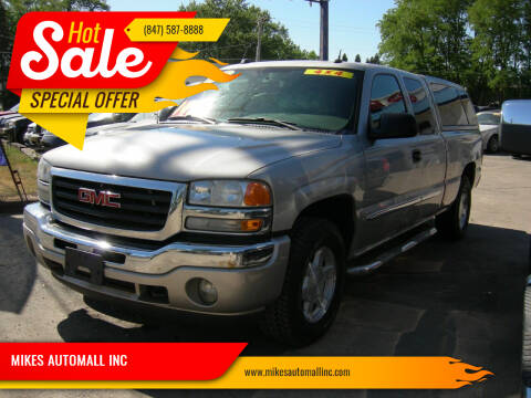 2005 GMC Sierra 1500 for sale at MIKES AUTOMALL INC in Ingleside IL