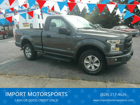 2016 Ford F-150 for sale at IMPORT MOTORSPORTS in Hickory NC