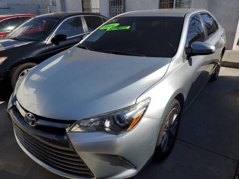 2016 Toyota Camry for sale at Express Auto Sales in Los Angeles CA