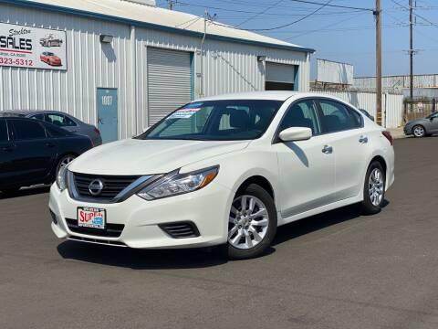 2017 Nissan Altima for sale at SUPER AUTO SALES STOCKTON in Stockton CA