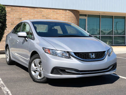 2015 Honda Civic for sale at AKOI Motors in Tempe AZ