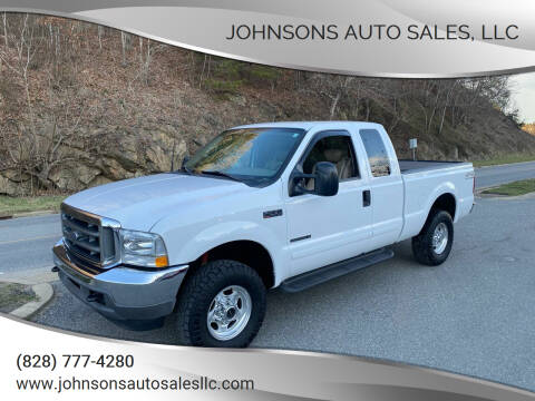 2001 Ford F-250 Super Duty for sale at Johnsons Auto Sales, LLC in Marshall NC