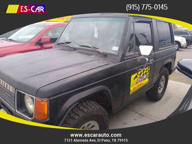 1988 Mitsubishi Montero for sale at Escar Auto in El Paso TX