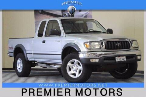 2002 Toyota Tacoma for sale at Premier Motors in Hayward CA