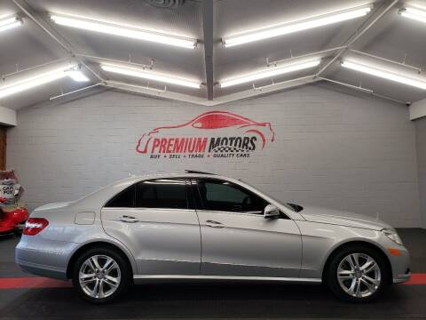 2011 Mercedes-Benz E-Class for sale at Premium Motors in Villa Park IL