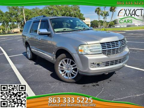 2008 Lincoln Navigator for sale at Exxact Cars in Lakeland FL