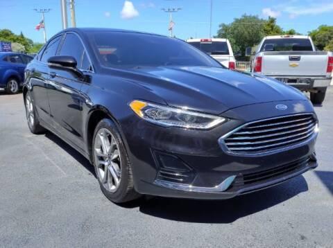 2019 Ford Fusion for sale at Start Auto Liquidation Center in Miramar FL