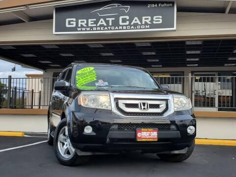 2011 Honda Pilot for sale at Great Cars in Sacramento CA