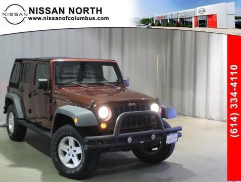 2008 Jeep Wrangler Unlimited for sale at Auto Center of Columbus in Columbus OH