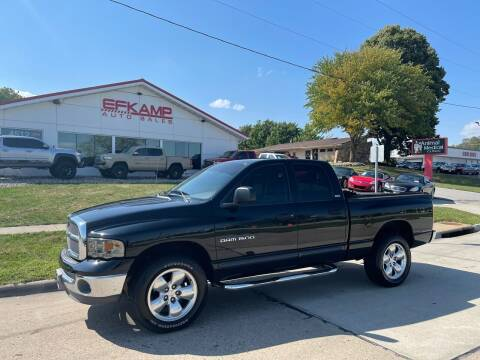 2002 Dodge Ram Pickup 1500 for sale at Efkamp Auto Sales LLC in Des Moines IA