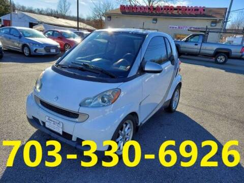 2009 Smart fortwo for sale at MANASSAS AUTO TRUCK in Manassas VA