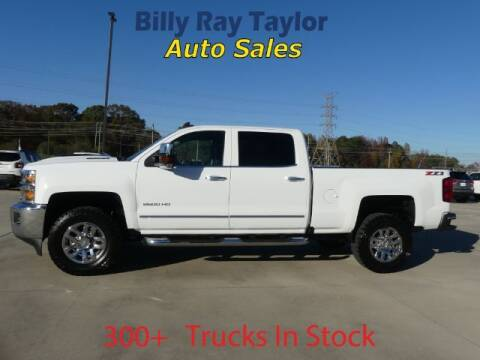 2019 Chevrolet Silverado 2500HD for sale at Billy Ray Taylor Auto Sales in Cullman AL