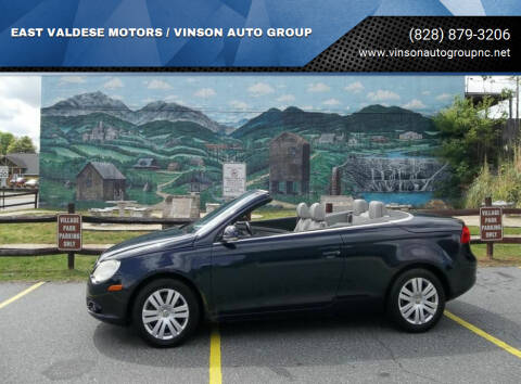 2008 Volkswagen Eos for sale at EAST VALDESE MOTORS / VINSON AUTO GROUP in Valdese NC