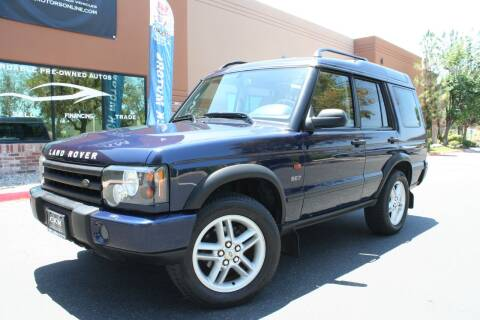 2003 Land Rover Discovery for sale at CK Motors in Murrieta CA