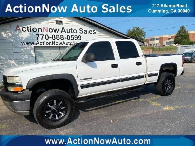 2001 Chevrolet Silverado 2500HD for sale at ACTION NOW AUTO SALES in Cumming GA