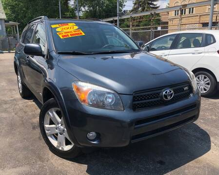 2007 Toyota RAV4 for sale at Jeff Auto Sales INC in Chicago IL