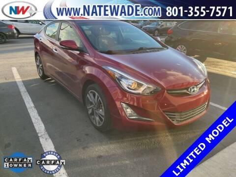 2015 Hyundai Elantra for sale at NATE WADE SUBARU in Salt Lake City UT