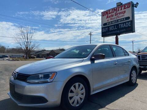 2014 Volkswagen Jetta for sale at Unlimited Auto Group in West Chester OH