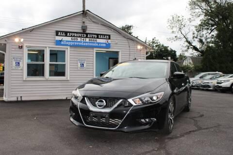 2017 Nissan Maxima for sale at Deals N Wheels 306 in Burlington NJ