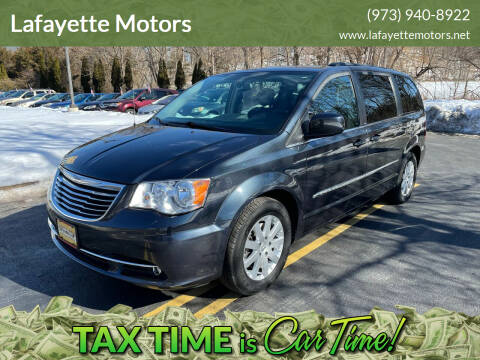 2014 Chrysler Town and Country for sale at Lafayette Motors 2 in Andover NJ
