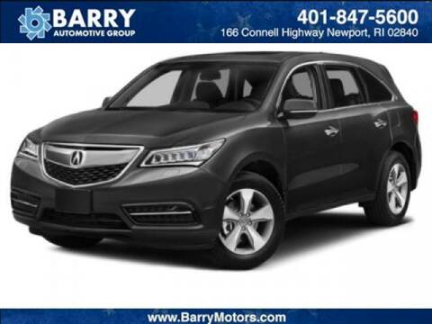 2014 Acura MDX for sale at BARRYS Auto Group Inc in Newport RI