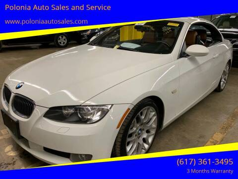 2007 BMW 3 Series for sale at Polonia Auto Sales and Service in Hyde Park MA